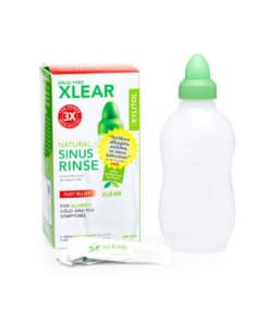 Xlear Sinus Rinse with Xylitol and Saline Solution