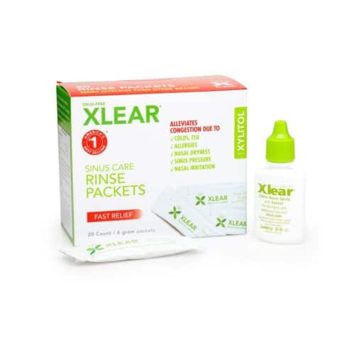 Xlear Xylitol and Saline Neti Pot Refill Solution