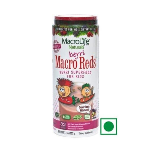 MacroLife Naturals Berri Reds 7.1oz (202g) 32 Servings