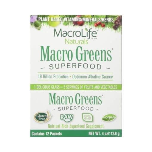 MacroLife Naturals Macro Greens Superfood