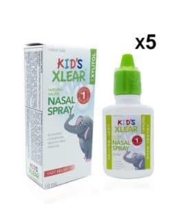Kid's Xlear Nasal Spray 10ml- 5 Pack